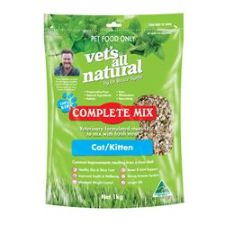 Vet's All Natural Complete Mix for Cats & Kittens