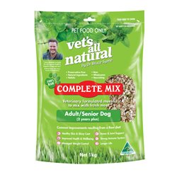 Vet's All Natural Complete Mix for Adult & Senior Dogs