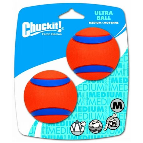 Chuckit! Ultra Ball 2 Pack - Medium