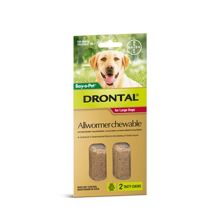 Drontal Dog 35KG Chewable