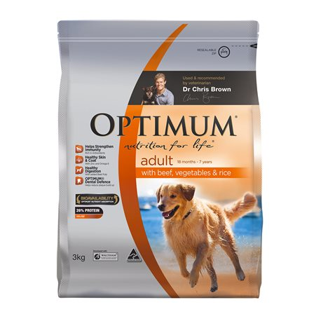 Optimum Dog Adult Beef