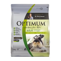 Optimum Dog Small Breed Adult Chicken