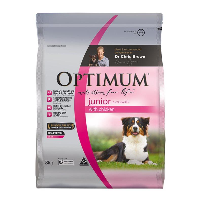 Optimum Junior Dog Food