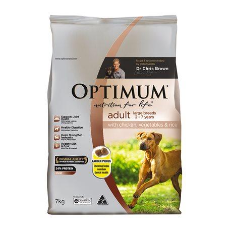 Optimum Dog Large Breed Adult Chicken