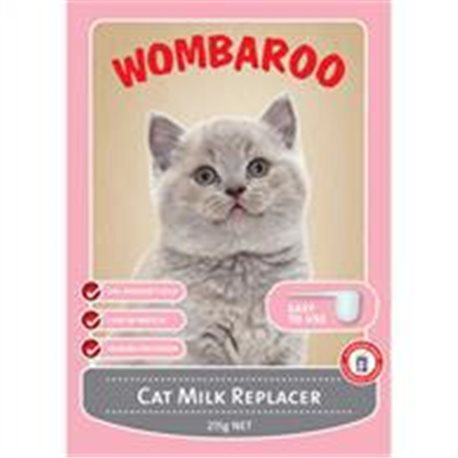 Wombaroo Cat Milk Replacer 215g