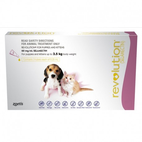 Revolution Pink Puppy and Kitten to 2.5KG