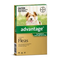 Advantage Small Dog 0-4KG