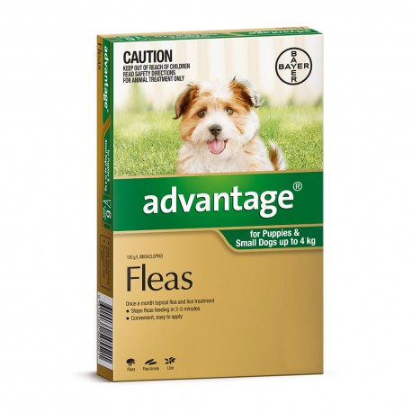 Advantage Small Dog 0-4KG