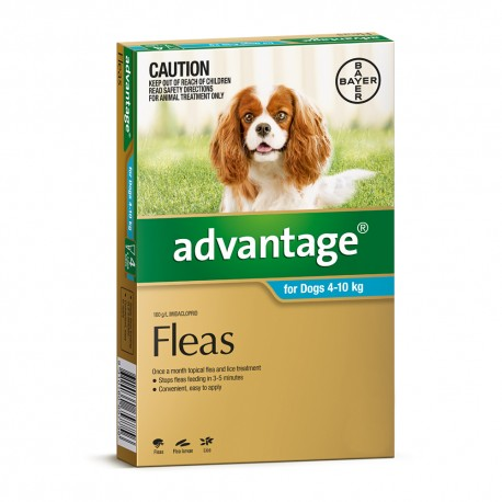 Advantage Medium Dog 4-10KG