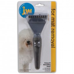 GripSoft Dematting Rake For Dogs