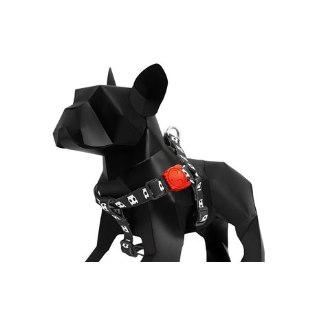 Zee.Dog Skull Harness