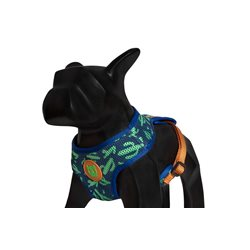 Zee.Dog Guacamole Harness Mesh