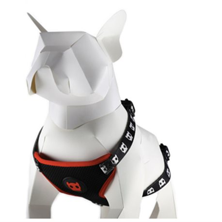Zee.Dog Skull Harness Mesh