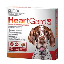 Heartgard Plus Large 23-45KG Brown