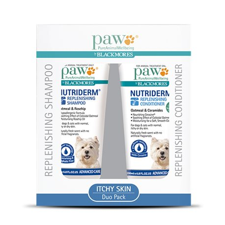 Paw Nutriderm Duo Pack Shampoo & Conditioner