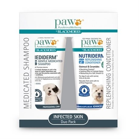 Paw Mediderm/Nutriderm Duo Pack 200ml