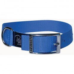 "Single Layer Nylon Collar Blue 1"" Width"