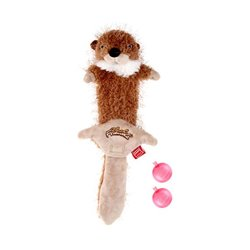 GIGWI Plush Friendz Squirrel Skin