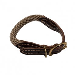 Mog & Bone Rope Collar Natural