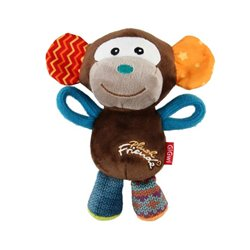 GIGWI Plush Friendz Monkey Multi Colour