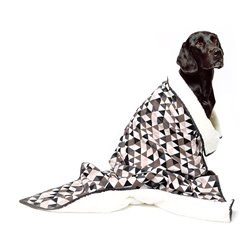 Mog & Bone Blanket Mocca Diamond