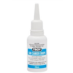 Troy Ear Canker Drops 20ml