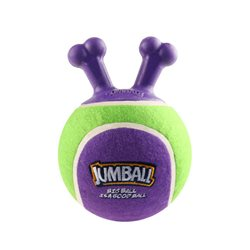 GIGWI Jumball Tennis Ball Green & Purple
