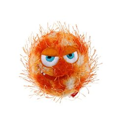 GIGWI Crazy Ball Squeaker Orange