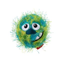 GIGWI Crazy Ball Squeaker Green
