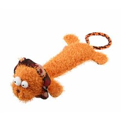 GIGWI Plush Friendz Durable Lion