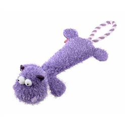GIGWI Plush Friendz Durable Hippo