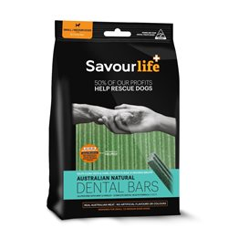 SavourLife Dental Bars For Sml/Med Dog (8 Pack)