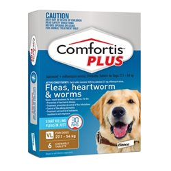 Comfortis Plus Brown 27.1-45kg 6 Pack