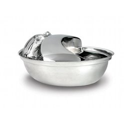 Pioneer STAINLESS STEEL PET FOUNTAIN - Raindrop Style