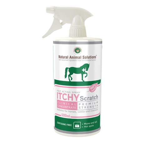 Natural Animal Solutions Itchy Scratch Equine 500ml