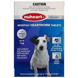 NuHeart Small Dog Up To 11kg Blue