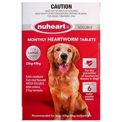 NuHeart Large Dog 23-45kg Red (6 Pack)
