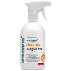 Aristopet Flea & Tick Spray For Dogs & Cats 250ml