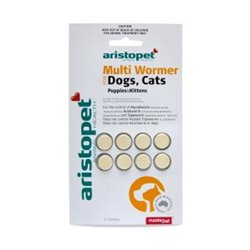 Aristopet Multi Wormer Dog/Cat 8 Pack