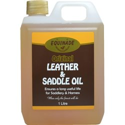 Equinade Leather & Saddle Oil 1ltr