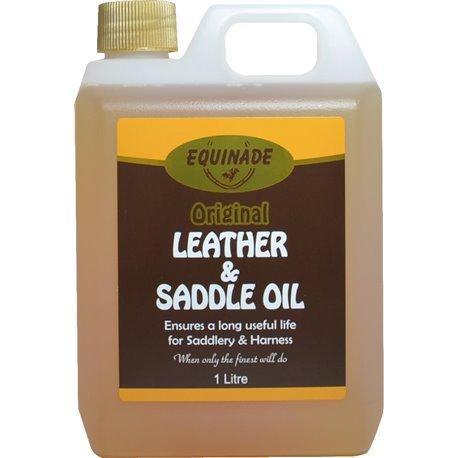 Equinade Leather & Saddle Oil 1ltr