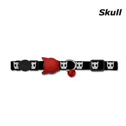 Zee.Dog Skull Cat Collar