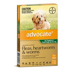 Advocate Dog Small Green