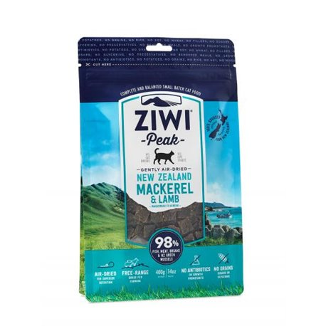 Ziwi Peak Air-Dried Mackerel & Lamb For Cats 400g