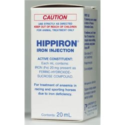 Hippiron Iron Injection 20ml