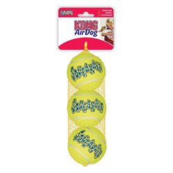 KONG Air Dog Squeakair Balls Medium 3 Pack