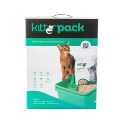 Kitter Wood Litter Tray Pack - Beige
