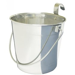 Stainless Steel Bucket Pail With Hooks