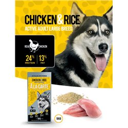 A La Carte Chicken & Rice Adult Large Breed Dry Dog Food