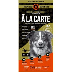 A La Carte Grain Free Chicken Adult Dry Dog Food
